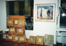 Kádár Béla - Kieselbach Galéria enteriőrképe; Fotó: Kieselbach Tamás
