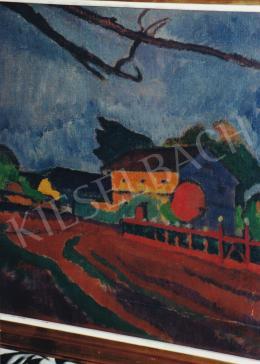 Bornemisza Géza - Falusi tájkép, 1911-1912, olaj, vászon, 36x40 cm, Jelzés nélkül, Fotó: Kieselbach Tamás