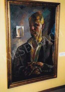 Aba-Novák, Vilmos - Self-Portrait; Photo: Tamás Kieselbach