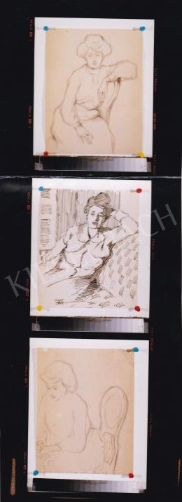 Kádár Béla - Női portré variáció, Fotó: Kieselbach Tamás