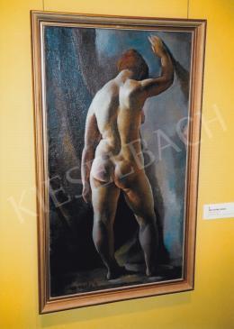 Aba-Novák, Vilmos - Backward Female Nude; oil on canvas; Signed lower left: Aba-Novák V.; Photo: Tamás Kieselbach
