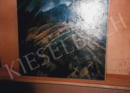 Schadl János - Temető; olaj, vászon; Jelezve jobbra lent: S.J. 924, Fotó: Kieselbach Tamás
