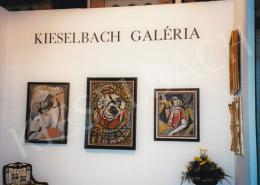 Kádár Béla - Kieselbach Galéria kiállítása; Fotó: Kieselbach Tamás