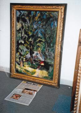 Aba-Novák, Vilmos - Zugliget Detail, 1926; 103x70; oil on canvas; Signed lower left: Aba-Novák; Photo: Tamás Kieselbach