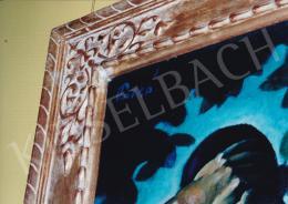 Patkó Károly - Ádám és Éva az Édenkertben; olaj, vászon; Jelezve balra fent: Patkó; Fotó: Kieselbach Tamás