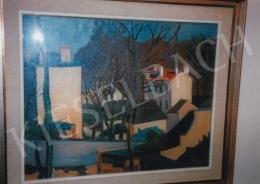 Orbán Dezső - Charentoni táj, 1908; olaj, vászon; 54,5 x 68 cm; Jelezve jobbra lent: Orbán Charenton 1908; Deák Gyűjtemény kiállítása; Fotó: Kieselbach Tamás