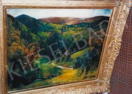 Aba-Novák, Vilmos - Landscape in Felsőbánya; 76x92 cm; oil on canvas; Signed lower right: Aba-Novák; Photo: Tamás Kieselbach