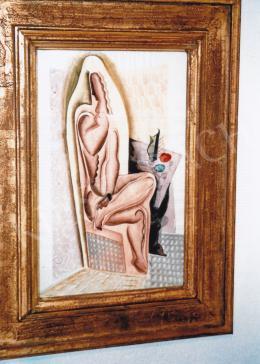 Kádár Béla - A modell; 47x30; akvarell, papír; Jelzés nélkül; Fotó: Kieselbach Tamás