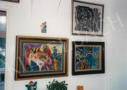 Jándi Dávid - Kiállítás enteriőrje; Fotó: Kieselbach Tamás