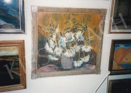 Nagy István - Csendélet margarétákkal; Jelezve jobbra lent: Nagy István; Fotó: Kieselbach Tamás