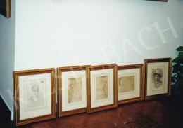 Mednyánszky László - Katona portrék, ceruza, papír, Fotó: Kieselbach Tamás