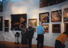 Ferenczy Károly - Ferenczy Károly és más művészek festményei; 1993-as aukciós kiállításon a Szakasits Művelődési Központban; Fotó: Kieselbach Tamás