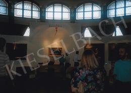 Csontváry Kosztka Tivadar - Esti halászat Castellammaréban, 1901; a Blitz Galéria 1993-as aukciós kiállítása a Szakasits Művelődési Központban; Fotó: Kieselbach Tamás