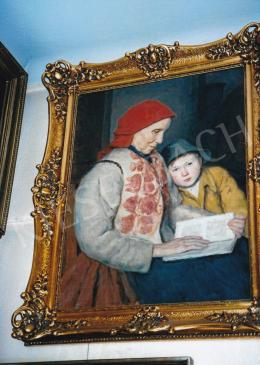 Glatz, Oszkár - Grandmother and her Grandchild; Photo: Tamás Kieselbach