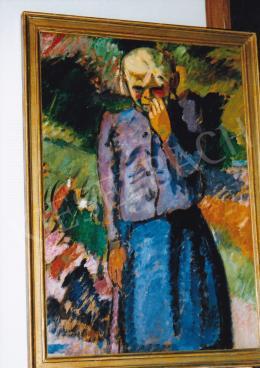 Márffy Ödön - Nyergesi lány, 1906; 88,5x62; olaj, karton; Jelezve jobbra fent: Márffy; Fotó: Kieselbach Tamás
