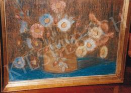 Nagy István - Virágcsendélet; pasztell, papír; Jelezve jobbra lent: Nagy István; Fotó: Kieselbach Tamás