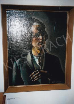 Aba-Novák, Vilmos - Self Portrait, c. 1920; 81x60 cm; oil on canvas; Signed lower right: Aba-Novák V.; Photo: Tamás Kieselbach