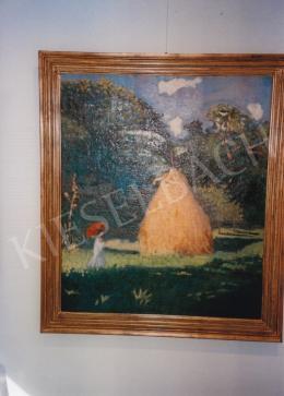 Boromisza Tibor - Napsütéses táj, 1905, olaj, vászon, 104x88 cm, Fotó: Kieselbach Tamás