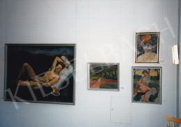 Czigány Dezső - Fekvő női akt, 1912 körül, 115x160 cm, olaj, vászon, Jelezve jobbra lent: Czigány D., Rippl-Rónai Múzeum, Kaposvár, Fotó: Kieselbach Tamás