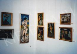 Márffy Ödön - Zöld szoba, 1908 körül, 39,5x50 cm, olaj, vászon lemezpapíron, Rippl-Rónai Múzeum, Kaposvár, Fotó: Kieselbach Tamás