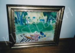 Vaszary, János - In the Park; 62.5x80 cm; Oil on canvas; Signed lower right: Vaszary J; Photo: Tamás Kieselbach