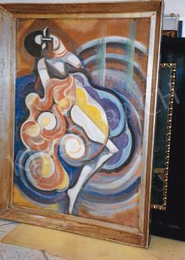 Scheiber, Hugó - Dancing Woman; 71x51 cm; mixed media on paper; Signed lower right: Scheiber H; Photo: Tamás Kieselbach