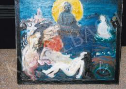 Csók István - Nirvána (Színvázlat a Nirvánához), 1906; 38.5x46 cm; Olaj, vászon; J. b. l.: Csók I. Paris 1906; Fotó: Kieselbach Tamás