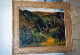 Aba-Novák, Vilmos - Landscape at Felsőbánya; 76x92 cm; oil on canvas; Signed lower roght: Aba-Novák, Photo: Tamás Kieselbach