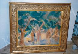 Márffy Ödön - Vasárnap délután a parkban, 1930 k.; 60x73 cm; olaj, vászon; jelezve jobbra lent: Márffy Ödön; Fotó: Kieselbach Tamás