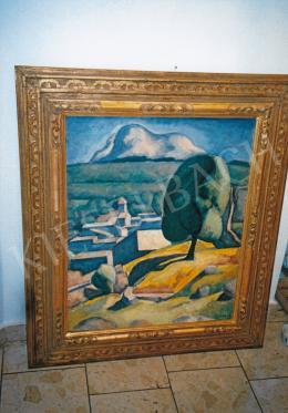 Czigány Dezső - Provence, 1926-1930 között; 82x66 cm; Olaj, vászon; Jelezve jobbra lent: Czigány; Fotó: Kieselbach Tamás
