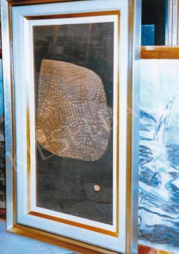 Vajda Lajos - Kavicsmaszk, 1939; 63,5x37 cm; szén, papír; Jelzés nélkül; Fotó: Kieselbach Tamás