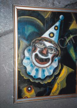Scheiber, Hugó - Clown; mixed media on paper; Signed lower right: Scheiber H.; Photo: Tamás Kieselbach