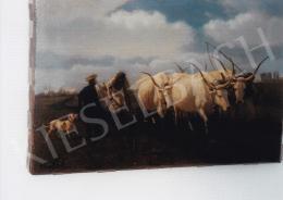 Lotz Károly - Szántás igás állatokkal; olaj, vászon; Jelezve balra lent: Lotz K.; Fotó: Kieselbach Tamás