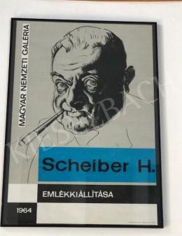 Scheiber, Hugó - Scheiber, Hugó Exhibition's Poster, 1964