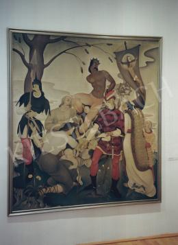 Basilides Barna - Történelmi jelenet; Fotó: Kieselbach Tamás