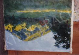 Ferenczy Valér - Nagybánya, Kereszthegy, Gesztenyevirágzáskor, olaj,vászon, 41x47 cm, Jelezve jobbra lent: Ferenczy Valér; Fotó: Kieselbach Tamás