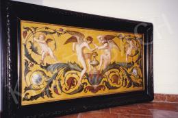 Lotz Károly - Allegórikus jelenet, olaj,vászon, 67x143 cm, Jelzés nélkül; Fotó: Kieselbach Tamás