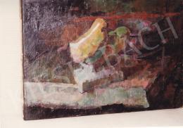 Nagy Oszkár - Dísztárgyak, olaj,vászon, 30x44 cm, Jelzés nélkül, Fotó: Kieselbach Tamás
