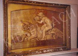 Lotz Károly - Vízöntő, szén,papír, 55x88 cm, Jelezve jobbra lent: Lotz K.; Fotó: Kieselbach Tamás