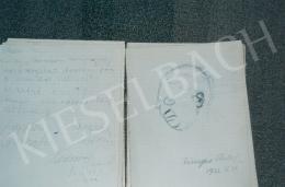 Fényes, Adolf - Self-Portrait; Photo: Tamás Kieselbach
