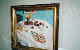 Fényes, Adolf - Still-Life and Gingerbread Heart, 1907, oil on canvas, 72x79 cm, Signed lower right, Fényes A. 1907, Photo: Tamás Kieselbach