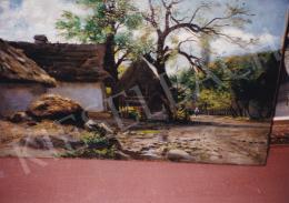 Edvi Illés, Aladár - Village House, oil on canvas, 30,5x50,5 cm, Signed lower left: Illés Á.; Photo: Tamás Kieselbach