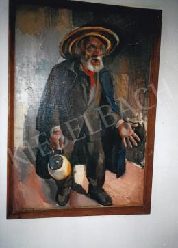 Aba-Novák, Vilmos - The angry Giovanni, 1929, 127x88 cm, oil on canvas, Signed lower left: Abanovák 29, private ownership, Photo: Tamás Kieselbach