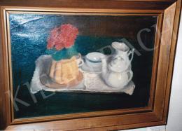Ferenczy Károly - Csendélet kuglóffal, 1911, olaj vászon, 46x60 cm, Jelzés nélkül, Fotó: Kieselbach Tamás