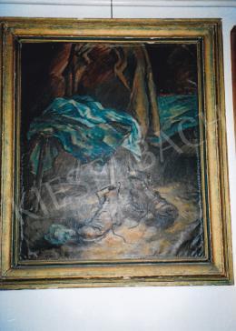 Schadl János - Levetett ruhák, 1938, olaj, vászon, 86x70,5 cm, Jelezve jobbra lent: S.J. 38, Fotó: Kieselbach Tamás
