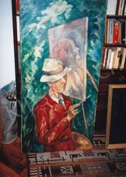 Schadl János - A festő, Jelezve jobbra lent: S.J. 39, Fotó: Kieselbach Tamás