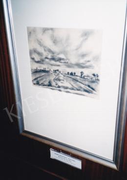 Korb, Erzsébet - Landscape by Rábakecöl, 1923, Vétel a Genthon-hagyatékból, 1983-ban, Photo: Tamás Kieselbach