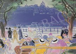 Vaszary, János - Promenade I., c.1934, oil on canvas, 51x68 cm, Earlier in  Baumgartner Collection