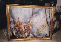 Aba-Novák, Vilmos - Bathers, oil on canvas, Photo: Tamás Kieselbach