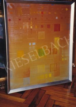 Gyarmathy Tihamér - Mozgásrendszer, olaj, vászon, Fotó: Kieselbach Tamás